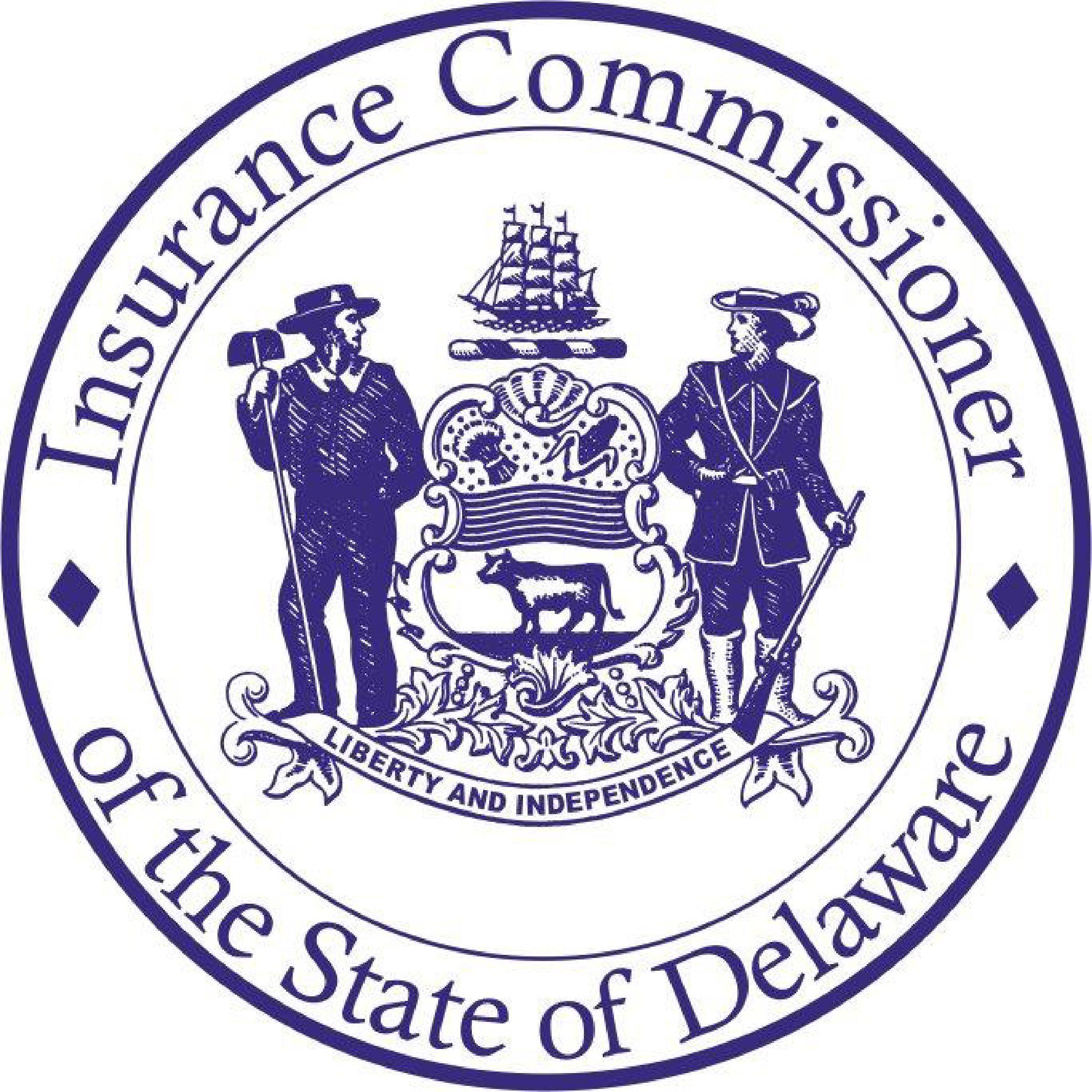 Seal of the Insurance Commissioner State of Delaware